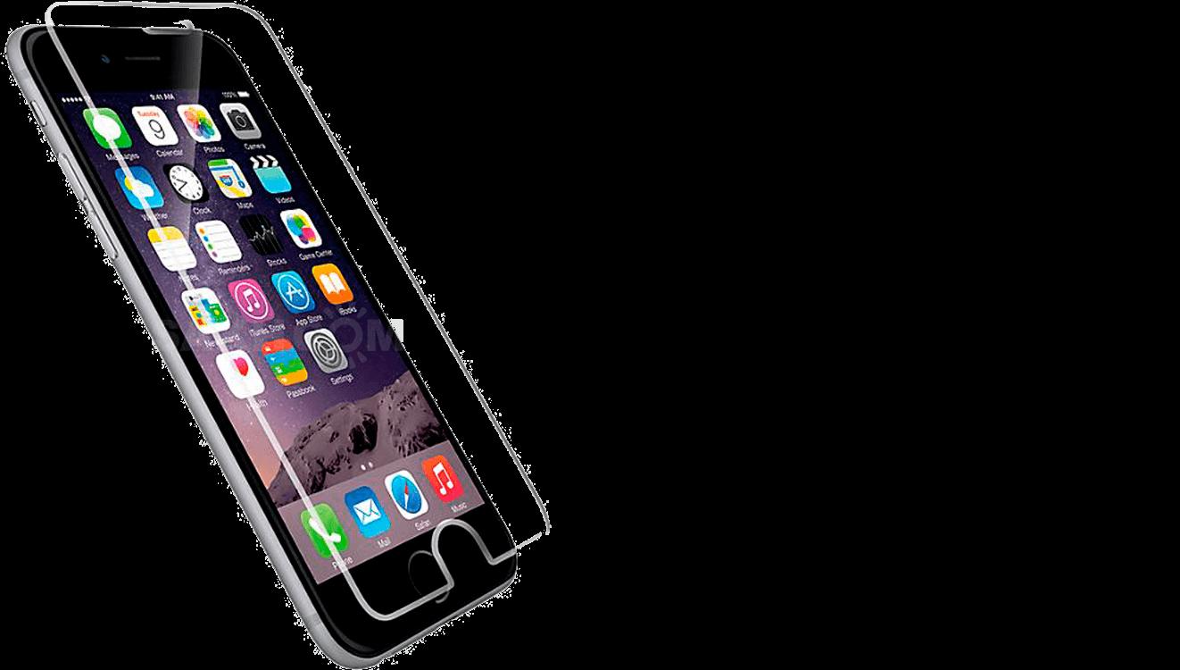 Наклейка пленки и бронестекла iPhone 5