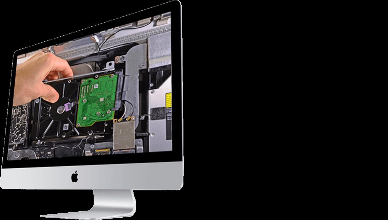 Замена HDD iMac A1311 / A1419