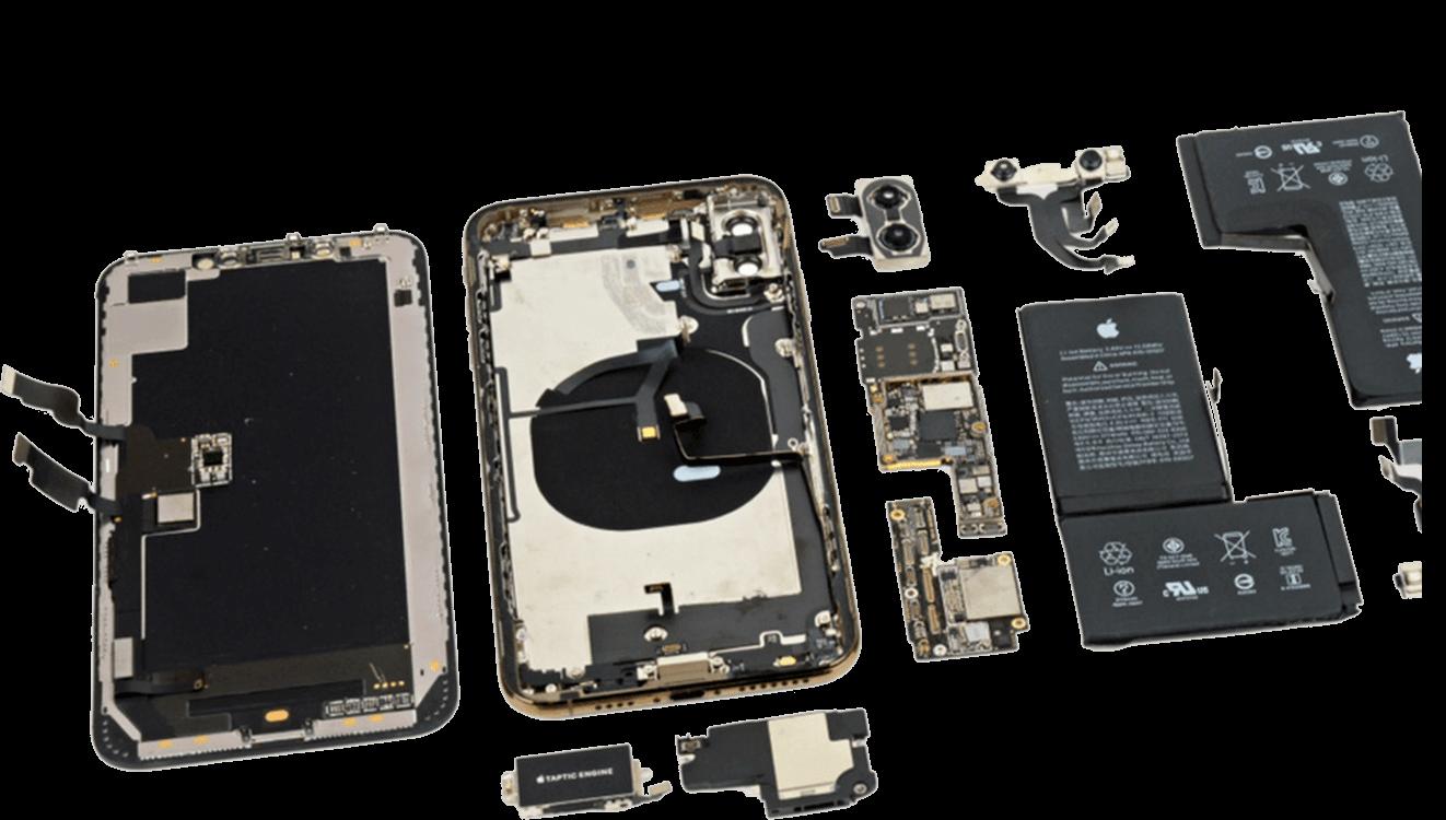 Замена передней камеры iPhone X